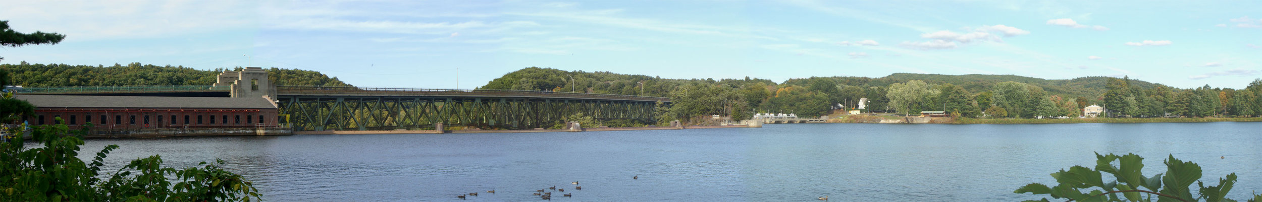 The Connecticut River From Turners Falls