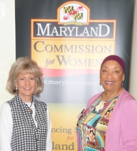Joan Webb Scornaienchi - Brenda McChriston @ MD Commission for Wom Event (8-18-18).jpg
