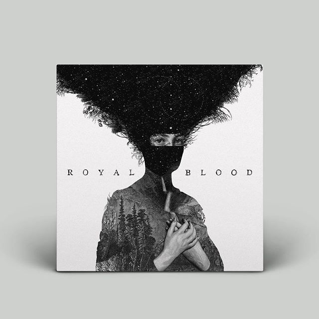 TRALLA ⚡️ #royalblood #music #cover #coveralbum #inspiration #coverdesign