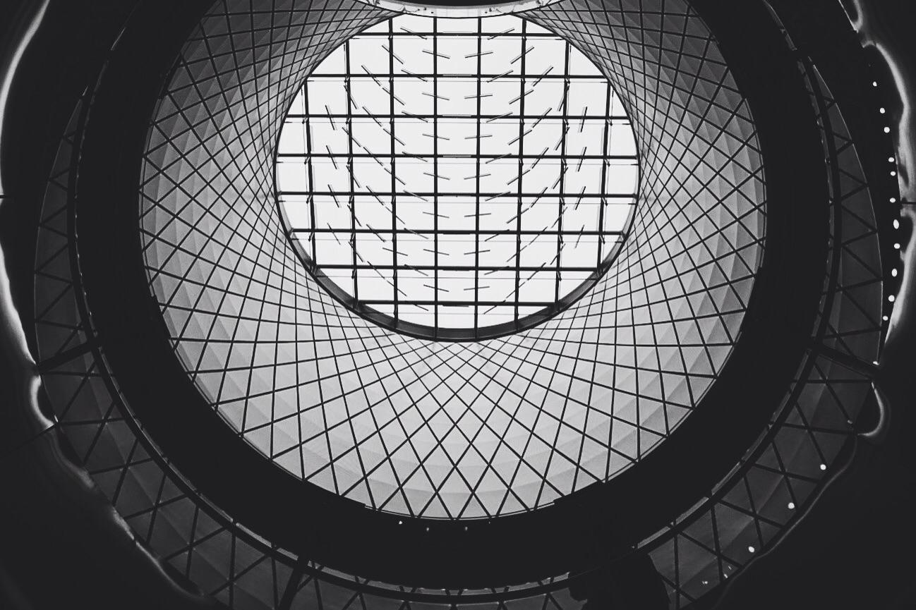 Fulton Center, Manhattan;  Powered by Sony Alpha QX-1 w/ 18-55mm lens