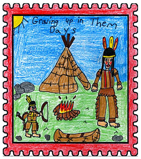 Northern Newfoundland Labrador Straits Winner   Growing Up In Them Days  by  Stephanie Skinner  Aged: 10, Grade: 5 Jakeman All Grade