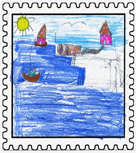 Burin Winner   Resettlement  by  Gracie Stapleton  Aged: 10, Grade: 5 Sacred Heart Academy