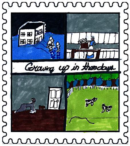 Vista Winner   Untitled  by  Erica Bailey  Aged: 14, Grade: 8 Bishop White