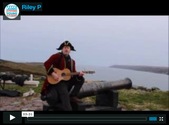 Riley P  from Trepassey Avalon Regional Heritage Fair  The Real Treasure Island
