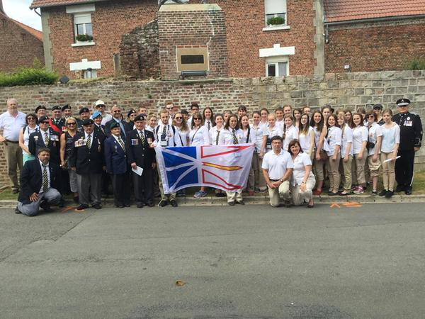 NL contingent at Monchy-le-Preux
