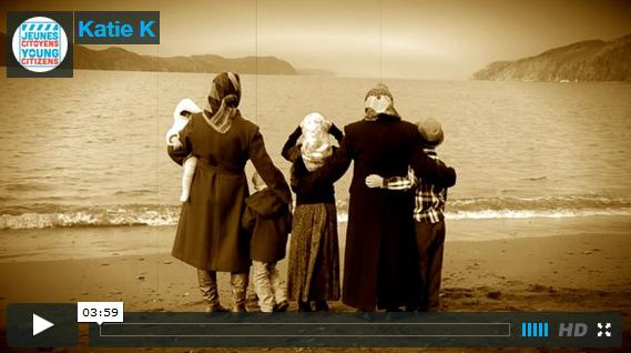 "Katie Kelly  Long Beach, Vista Regional Heritage Fair ""The Resilient Newfoundland and Labradorian"""