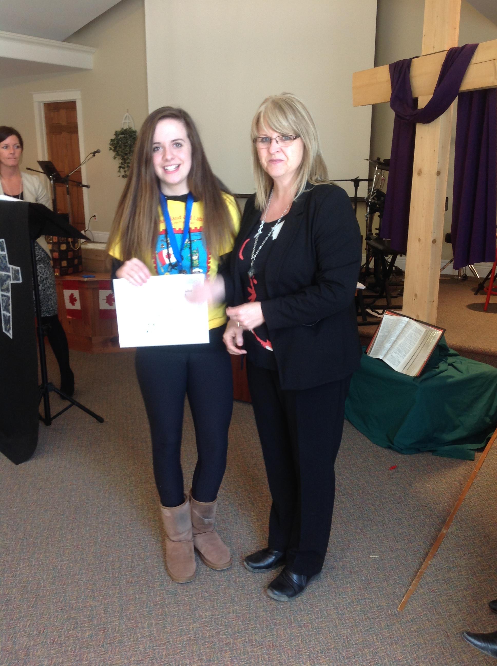 Healthcare Award - Julianna Mills