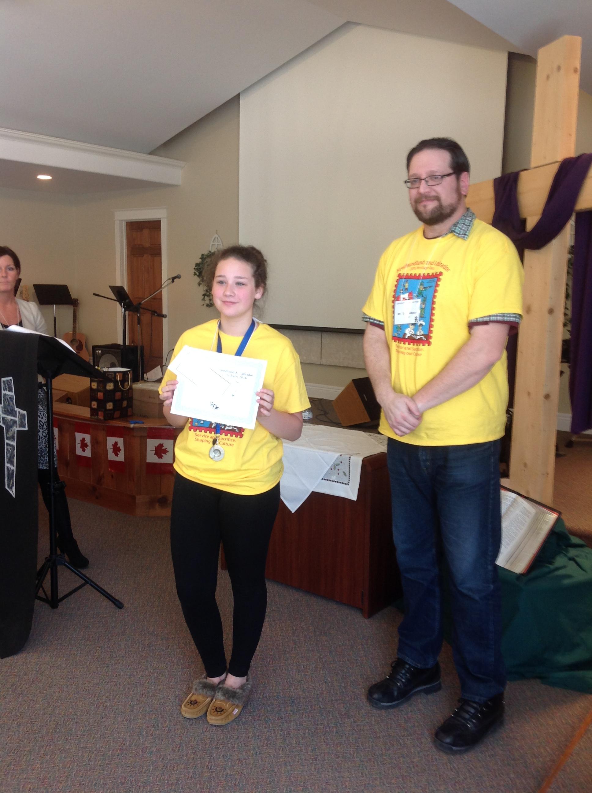Heritage Foundation Award - Karley Sheppard