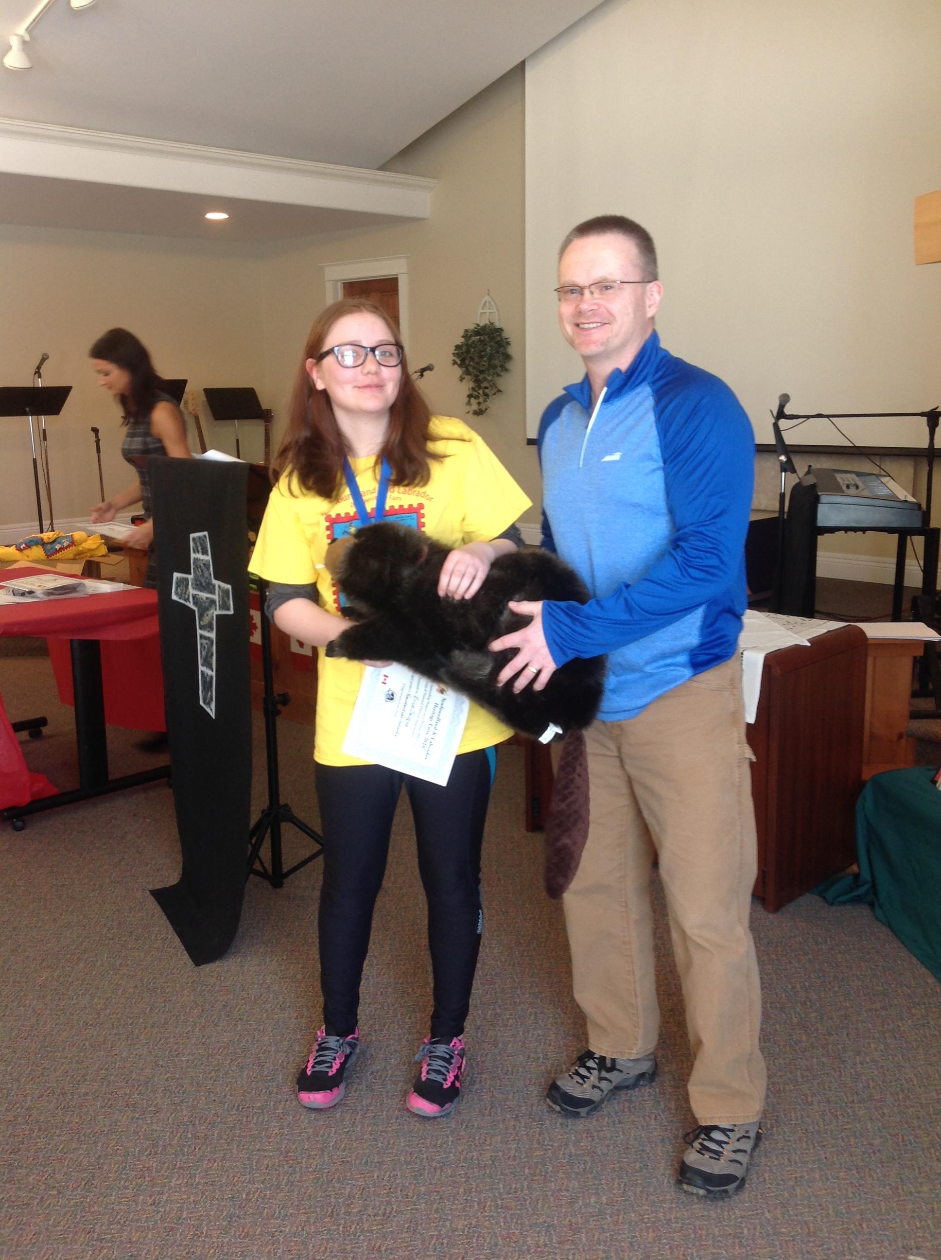 Parks Canada Award - Erica Jacque