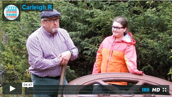 Carleigh R  from Eastport Central Regional Heritage Fair  The Sawmilling Industry in Newfoundland