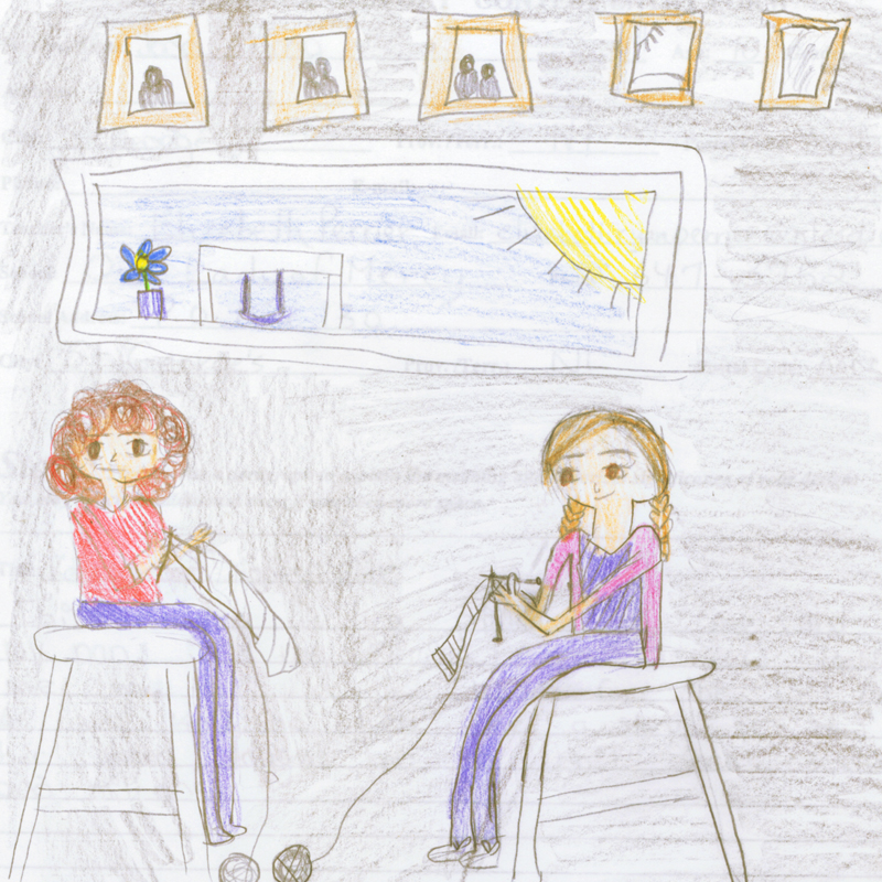 Western Regional Winner   Keeping Our Stories Alive  by  Jada King  Grade 5, Age 10 Our Lady of Mercy Elementary