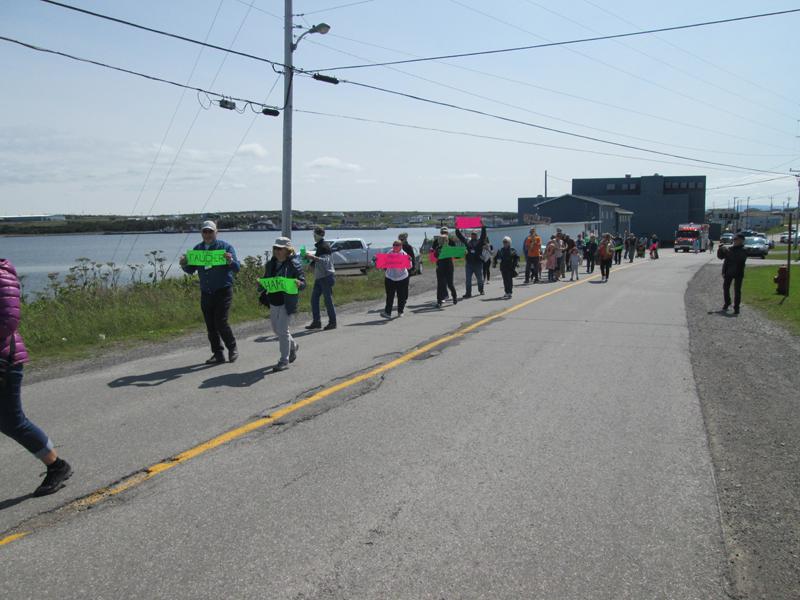 Parade through the community