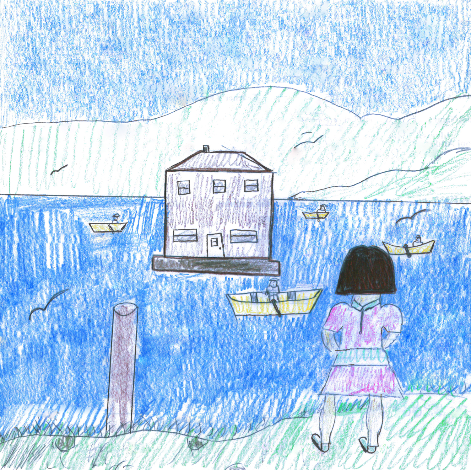 Central Winner -  Senior Division    Resettlement  by  Elizabeth Mullins  Grade 9,  King Academy