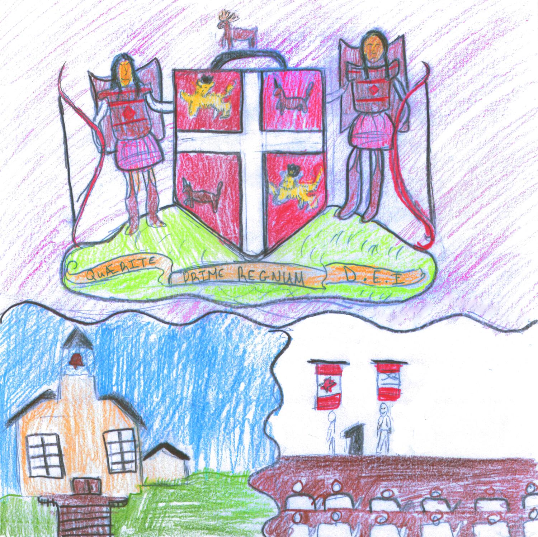 Western Winner -  Junior Division    Les Leçons de Notre Passé, Façonnent Notre Avenir  by  Maggie Barter , Grade 8,École Sainte-Anne
