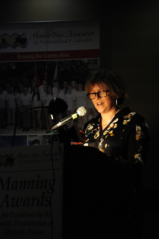 Margo Connors describes the Heritage and History Book Award and the work of her adjudication committee