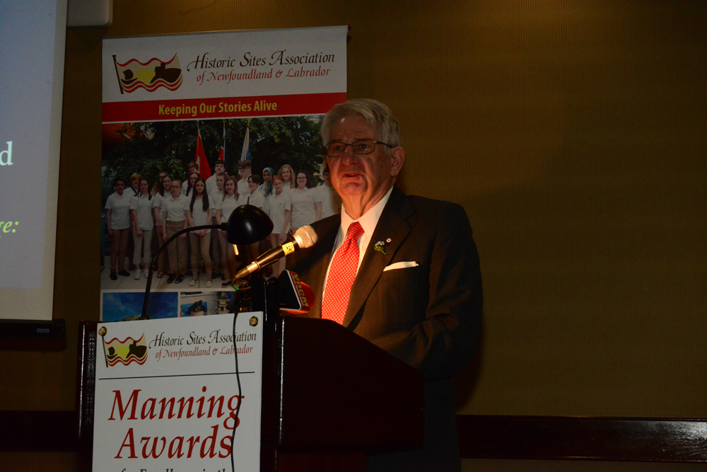 """The Honourable Edward Roberts speaks about """"Towards an Encyclopedia of Local Knowledge"""", winner of the 2018 Heritage and History Book Award"""