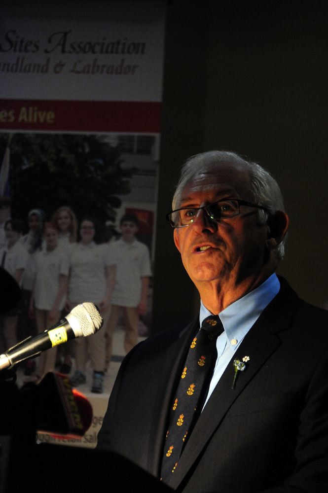 His Honour, The Honourable Frank F. Fagan is patron of the Manning Awards