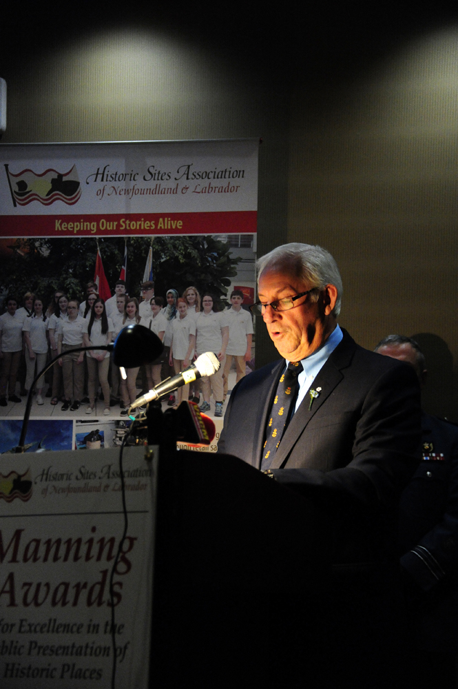 His Honour brought greetings to begin the 23rd Manning Awards ceremony
