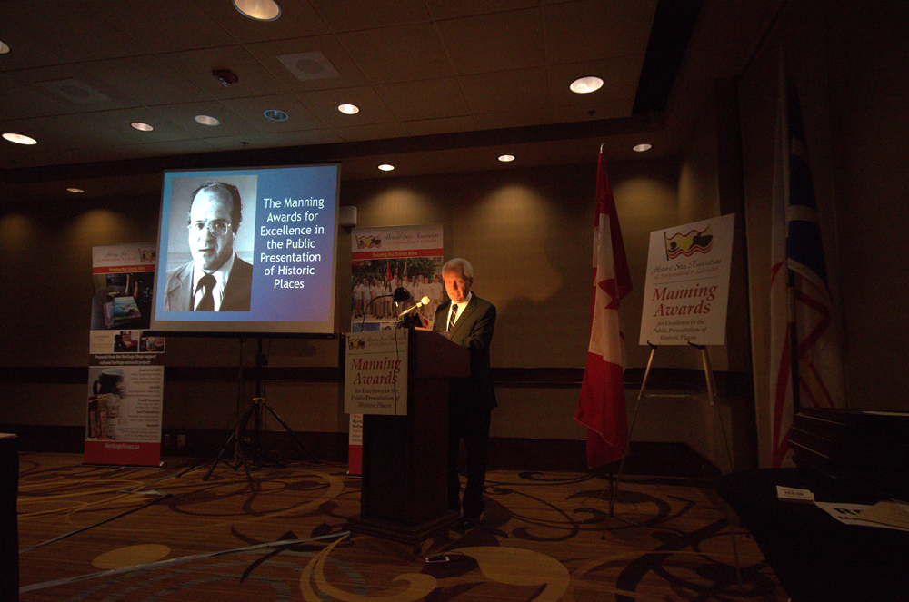 The Manning Awards were established in memory of Bill Manning, former Parks Canada Superintendent and champion for community involvement in heritage preservation