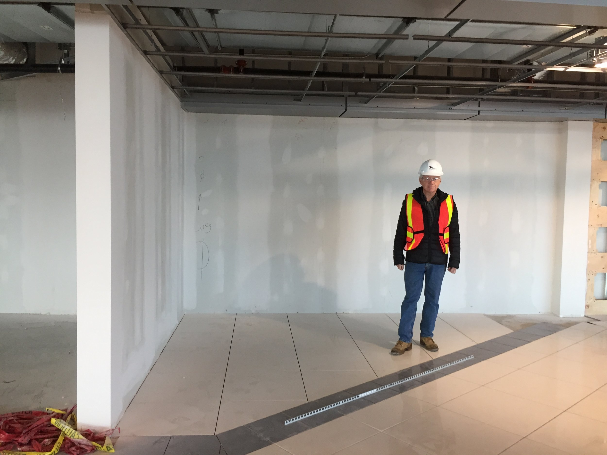 The new retail space for the Airport Heritage Shop is currently under construction. It will open in Summer 2018 with the eastern expansion of the St. John's International Airport's departures lounge.