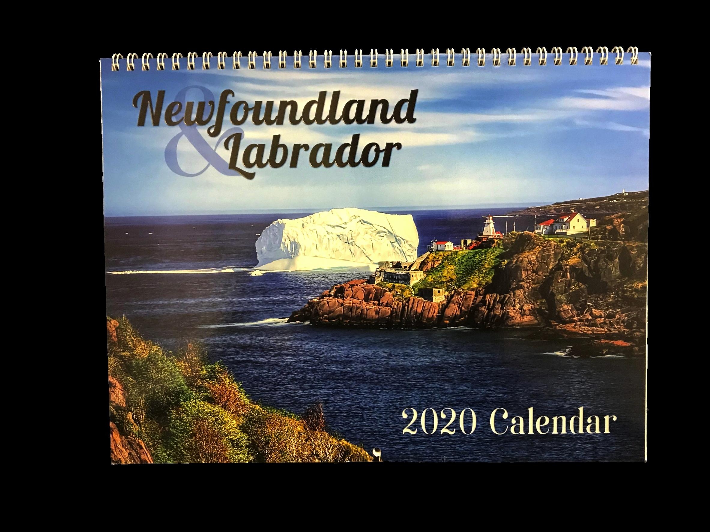 Newfoundland and Labrador Calendars
