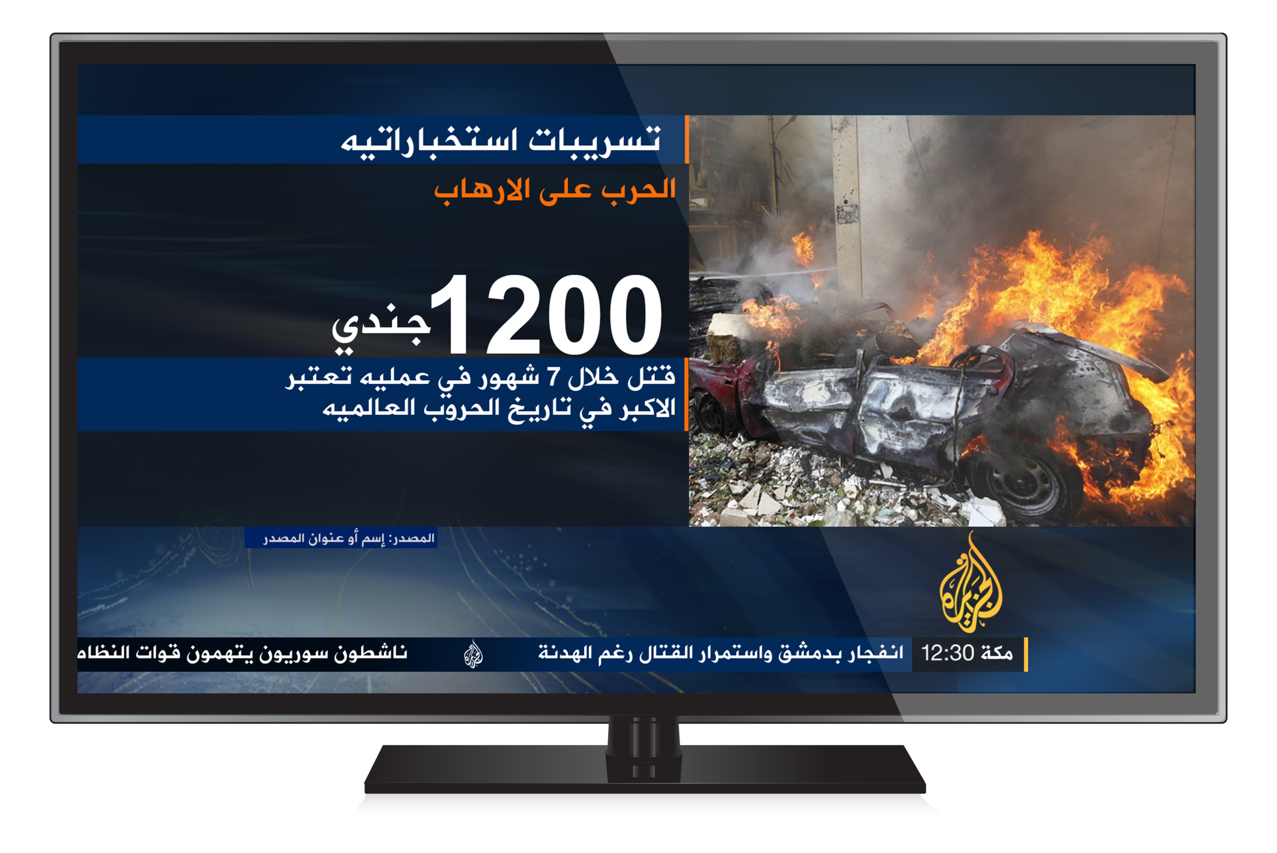 NOW, NEXT, LATER   Continuity graphics for News were created to support a new schedule structure. W&B also delivered continuity templates for Al Jazeera Breaking News alerts, available on other broadcasters and channels.