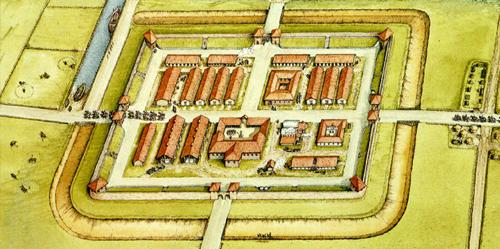 Geophysics at Brancaster Roman Fort