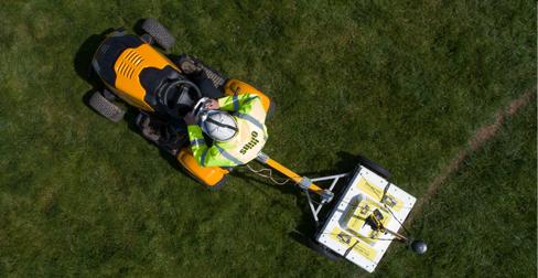 Cart-based High Density GPR