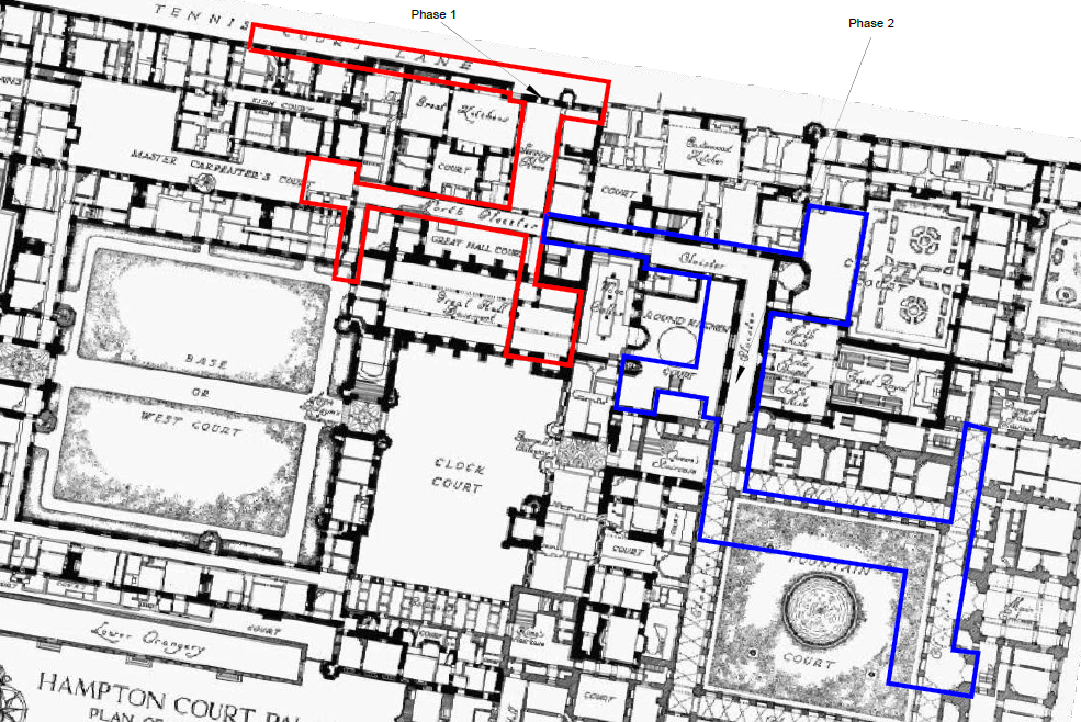 SUMO was commissioned to survey two surveys area highlighted above in red (phase 1) and blue (phase2).