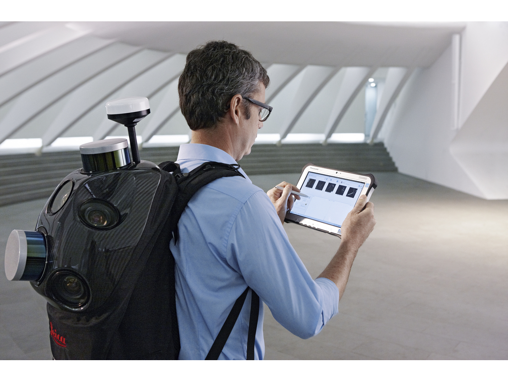 The Leica Pegasus Backpack
