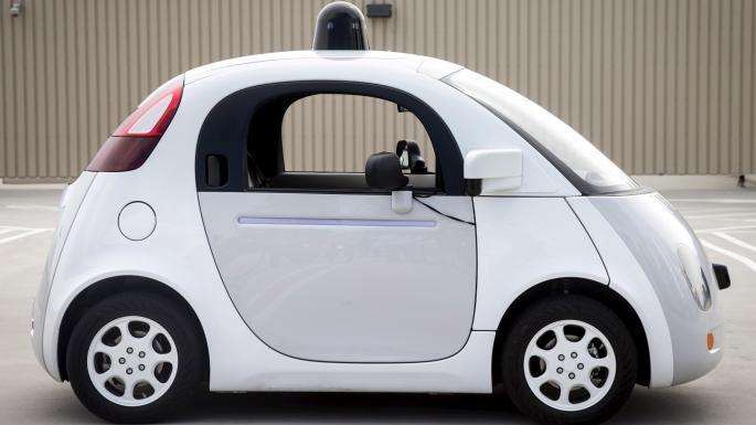 The Google Self-Drive car.