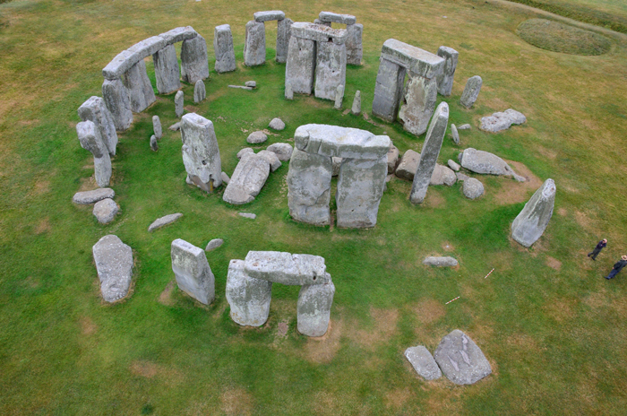 Aerial photograph of Stonehenge by Adam Stanford