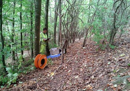 Assessing slope stability by resistivity imaging