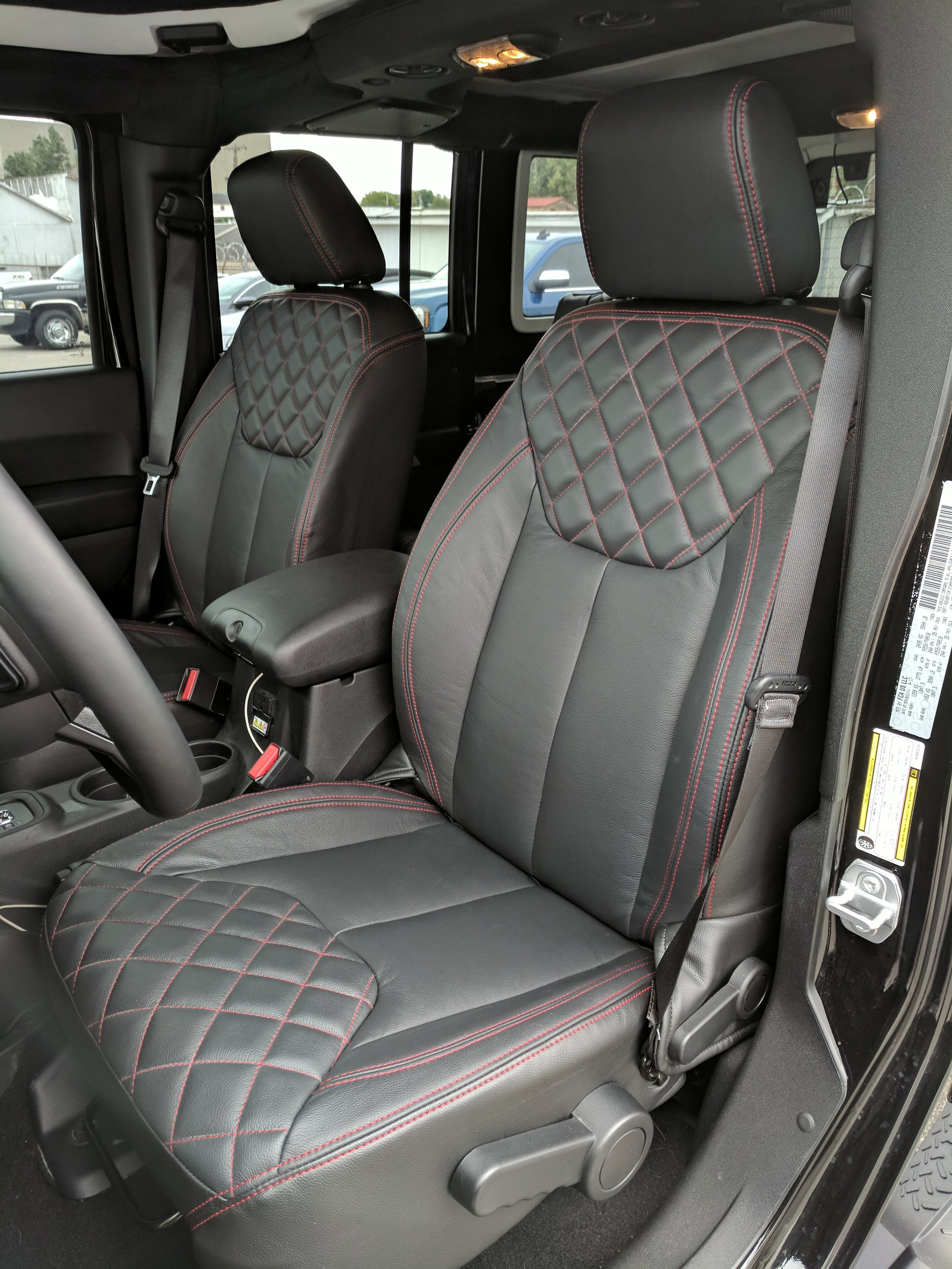 Auto Upholstery Custom Leather