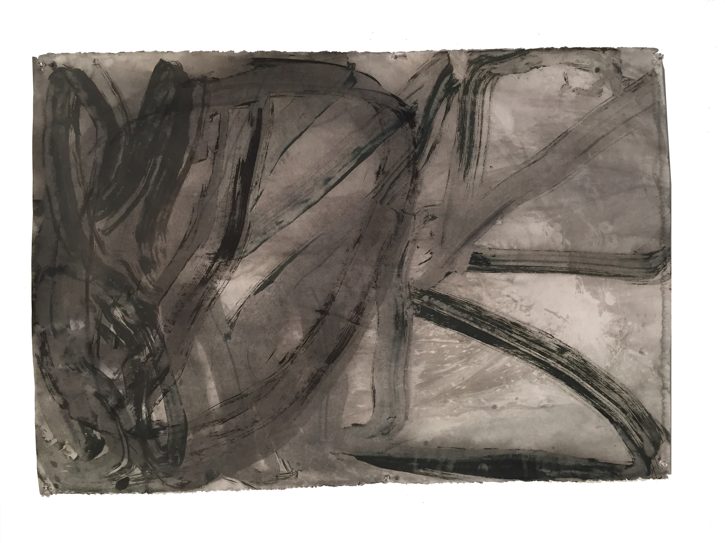 ink & watercolor on paper, 2015 - $1,200