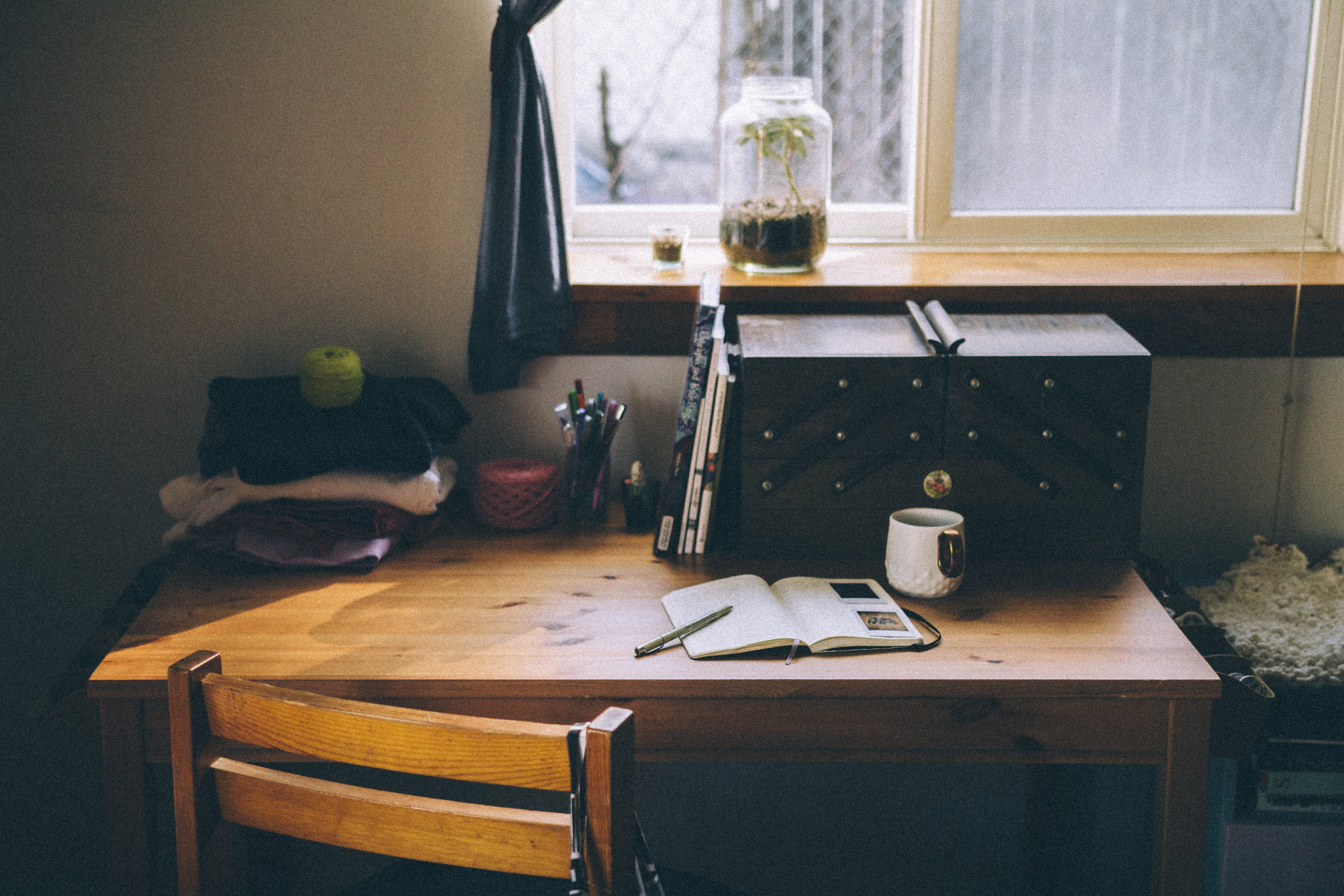 |Studio Space | - researching, thinking,and writing -- new ideas and methods