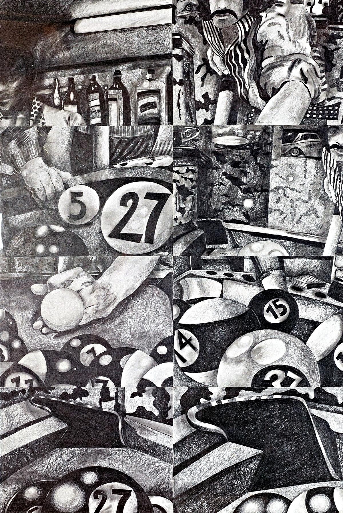 Billard, 1975