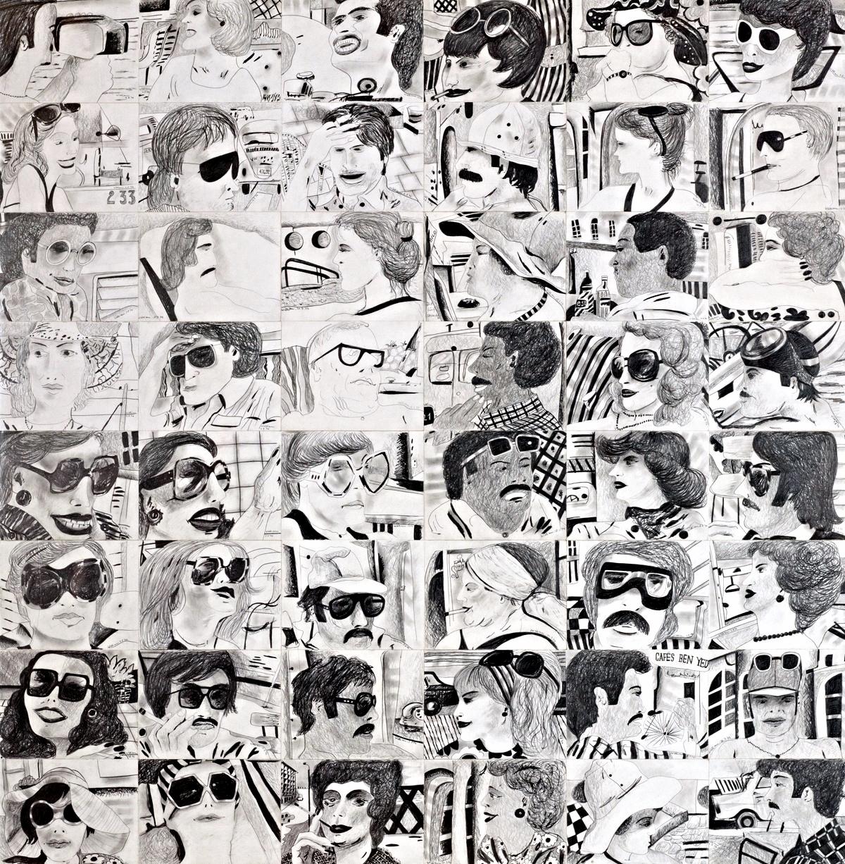 Porträtstudien, 1976