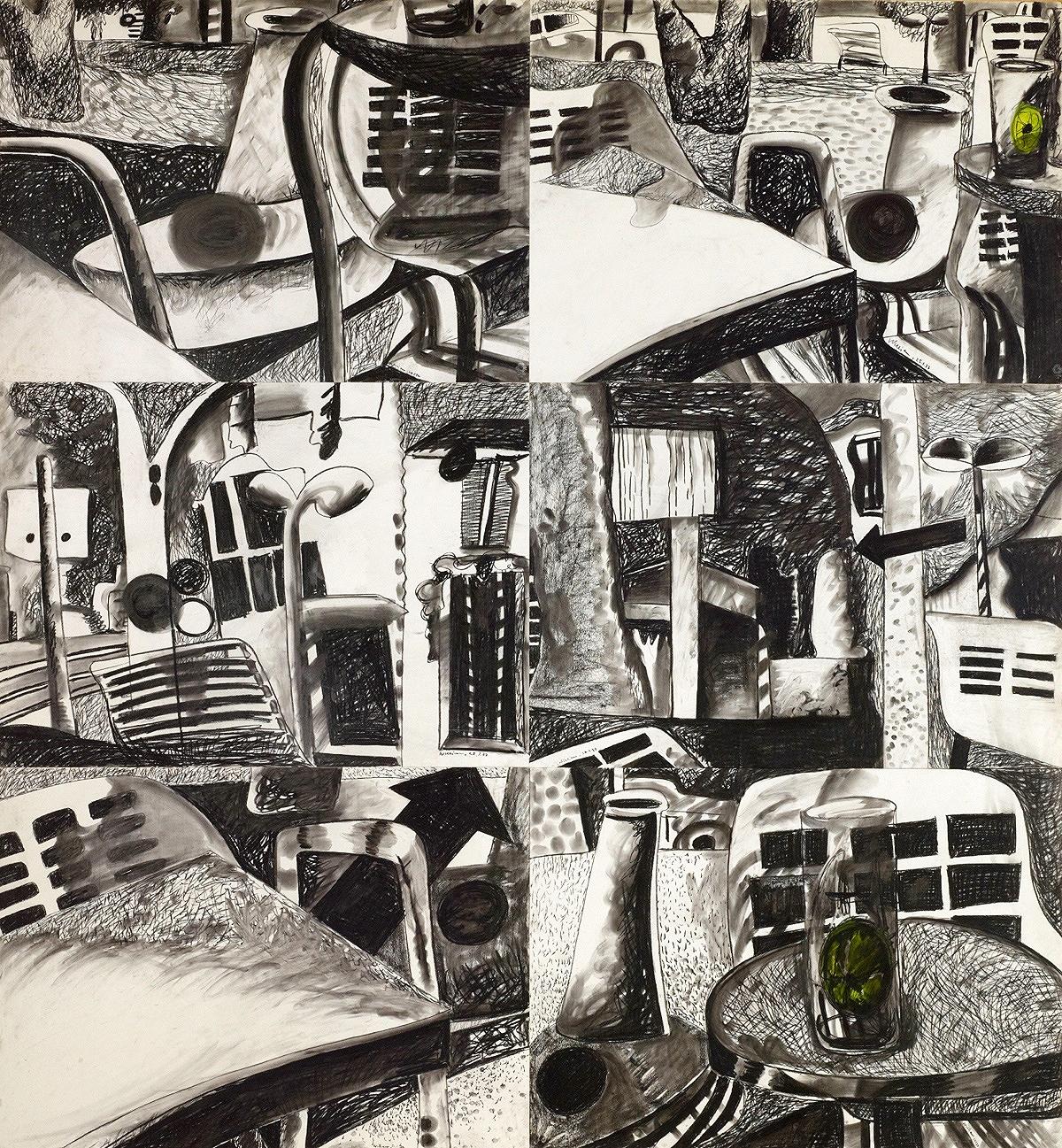 Sitzplatz-Darstellungen, 1977