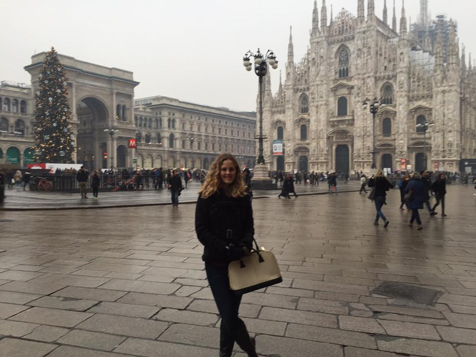 Piazza del Duomo. My mom is still learning how to be an  Instagram Husband .
