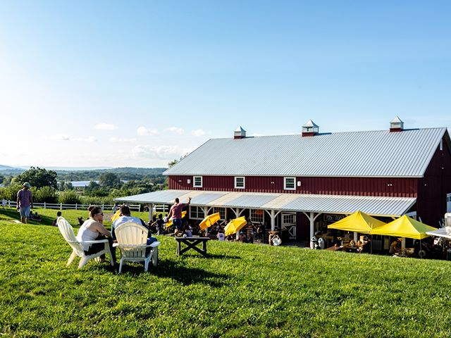 We're spending most of today outdoors in the warm sunshine. Won't you join us?  #cidercountry #pickcider #penningsfarmcidery #ciderandsunshine #cidersatsunset #warwickcider #cornhole #warwickny #hudsonvalleyny #drinkcider #orchardgrown