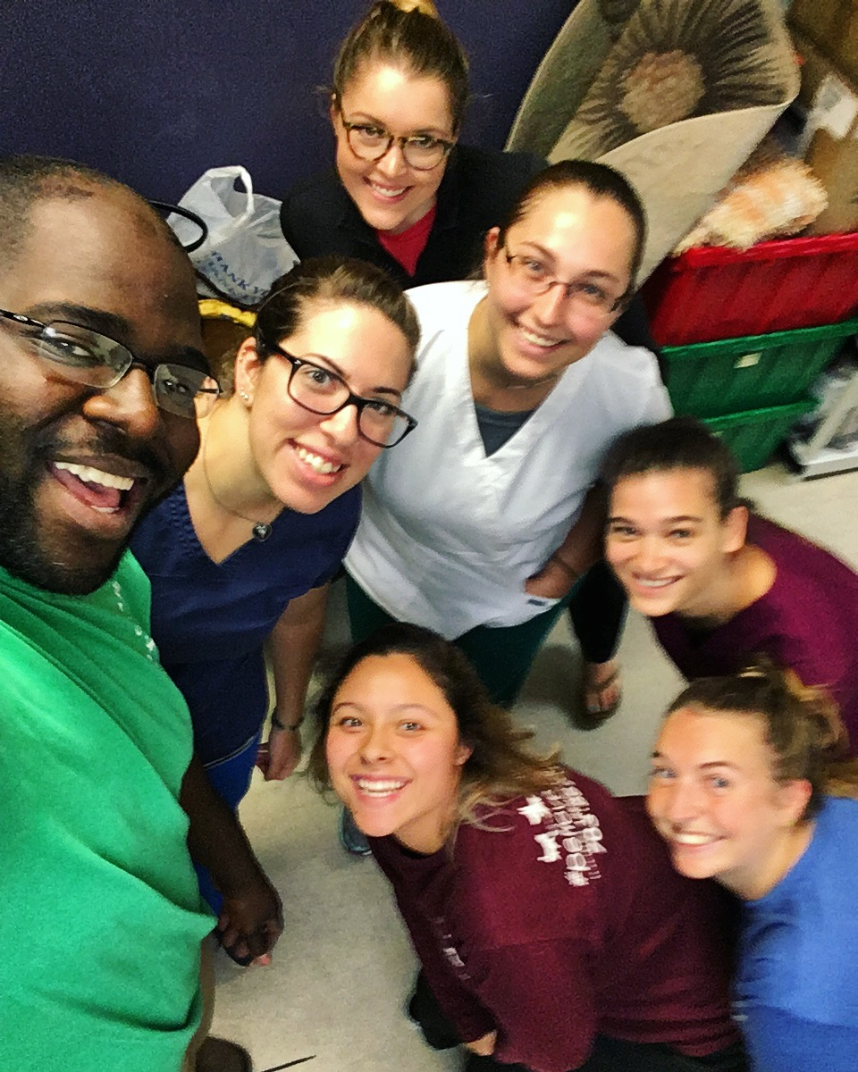 Clarendon Animal Care Veterinary Clinic Arlington Virginia Staff Selfie