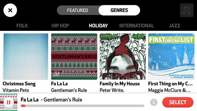"""Featured today on the new app by @vimeo, @cameoapp! Go download it right now and make your own """"Fa La La"""" music video!"""