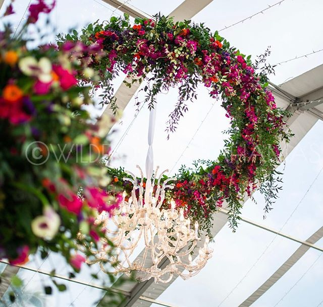 "Don't worry we've got the ""Air space"" covered too 😉 * * * * #corporateevents #wildflowers #dmc #vibrant #bahamas #bahamasevents #bahamar #flowers #eventplanning #eventdesign #tent #tentit"
