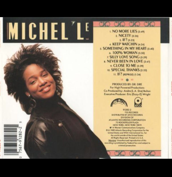 Album Michel'le and listed tracks