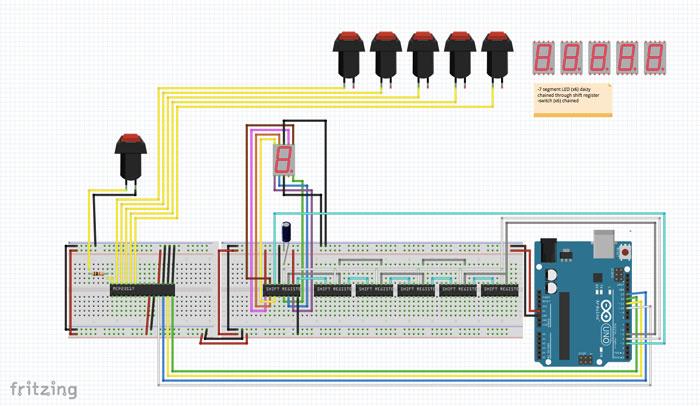 Documentation for 6-Tile Prototype Circuit Layout