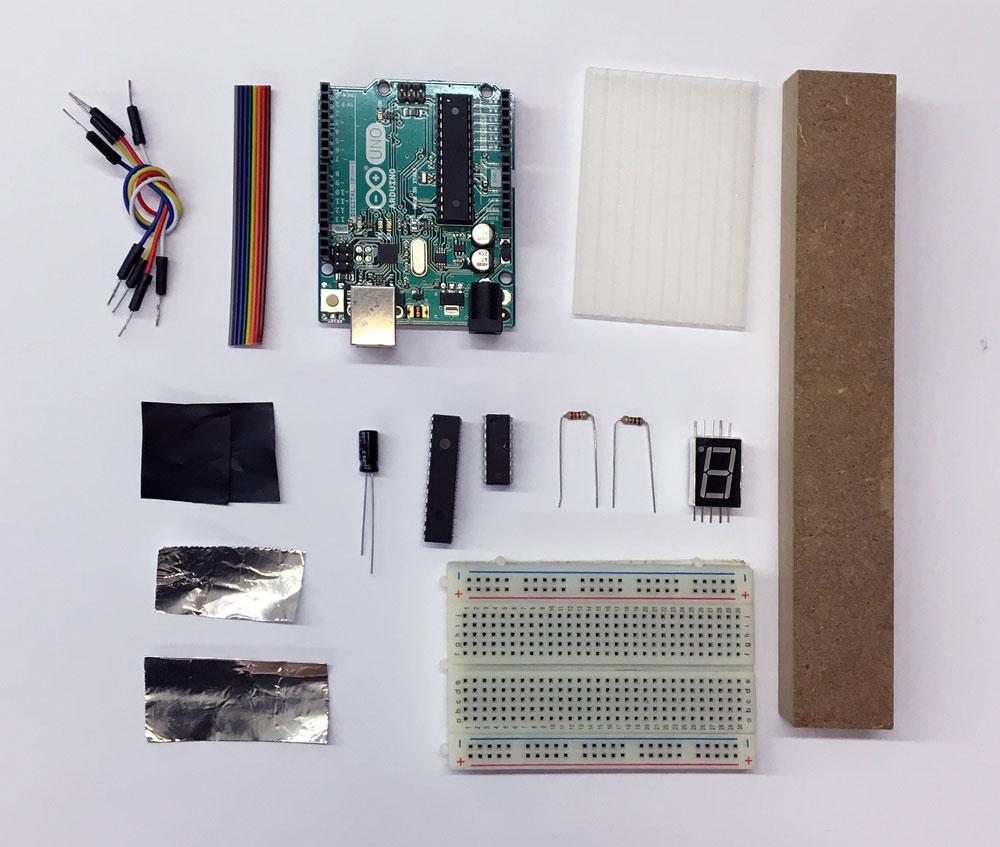 Low Fidelity Working Prototype Components