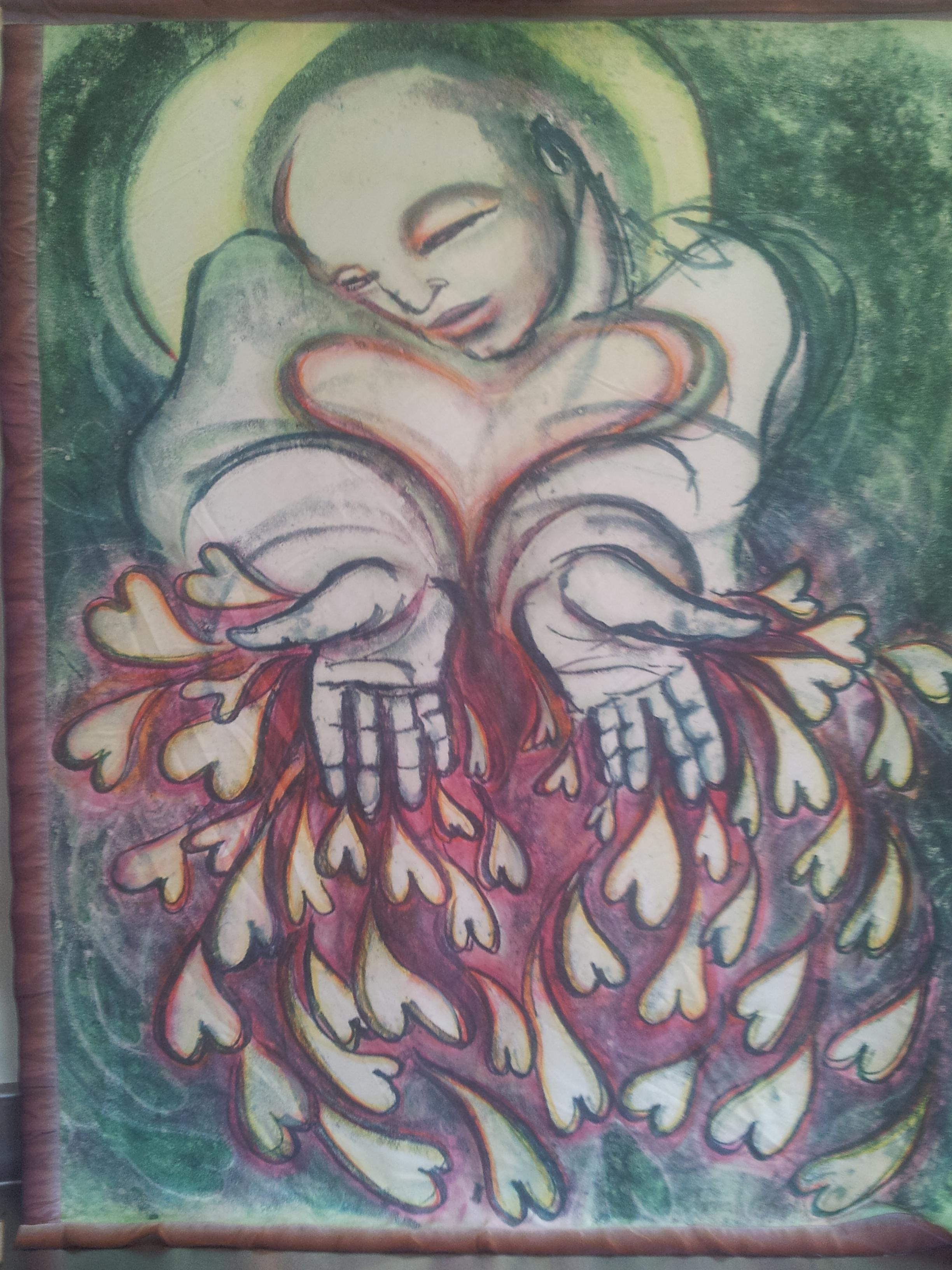 Painting by  Deborah Koff Chapin