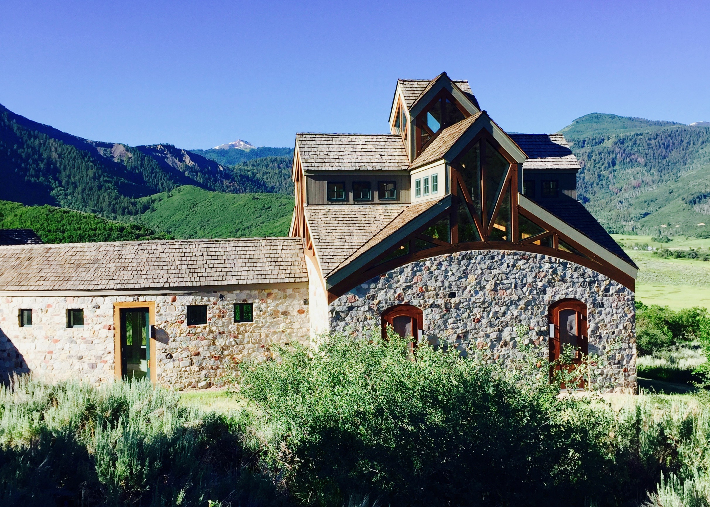 Snowmas Retreat House, St. Benedict's Monastery, Snowmass, CO. (N. Miles-Yepez, 2016)