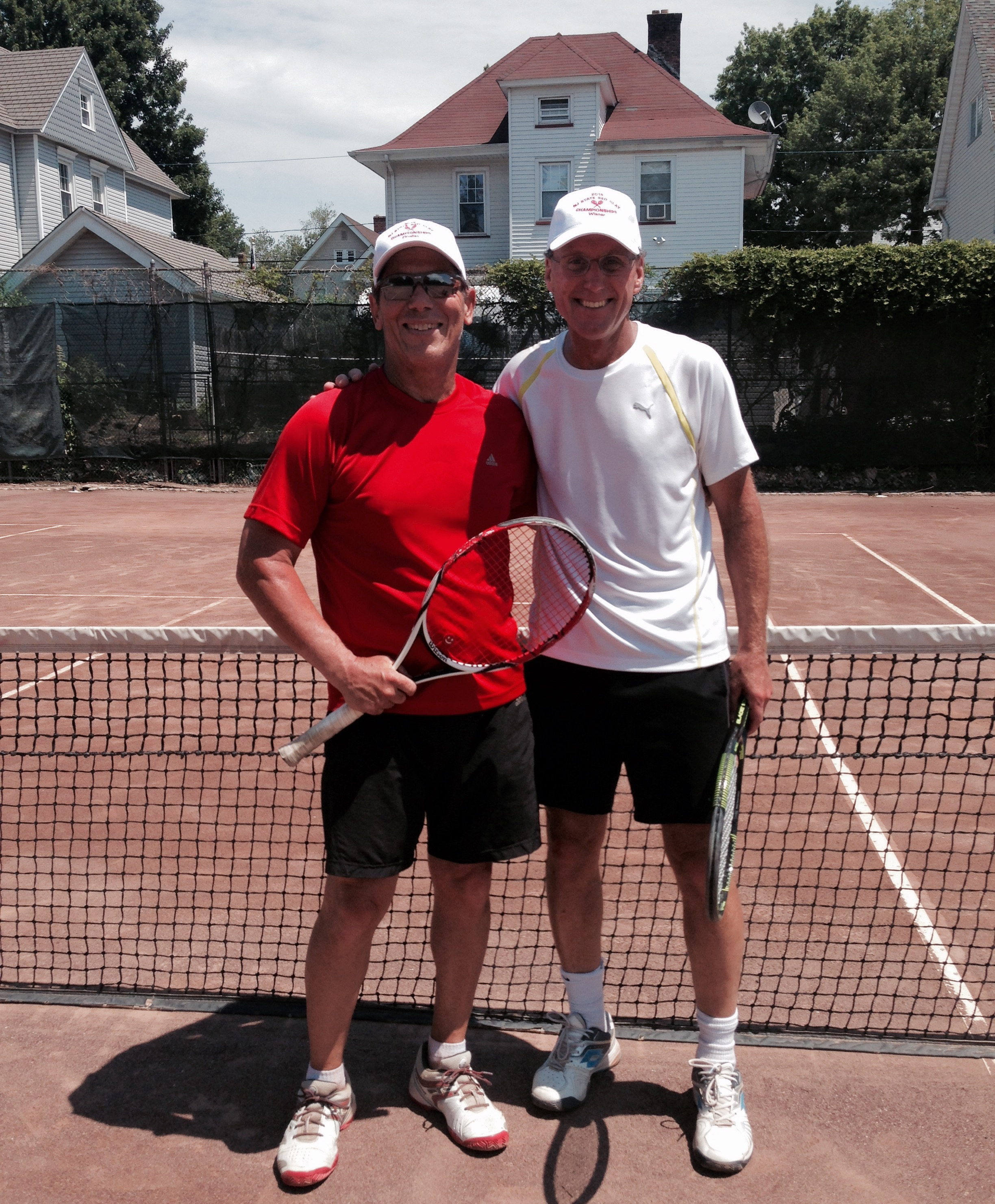 Runner- up Rick Sahlman (left) & John Titcomb (right)